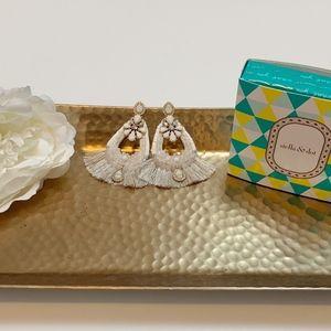 New In Box Stella & Dot Audrey Statement Earrings